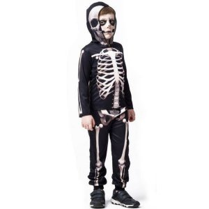 Fantasia Halloween Conjunto Skull - Fantasias Super