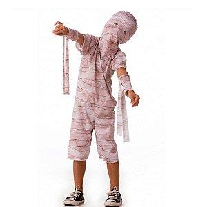 Fantasia Halloween Infantil Múmia