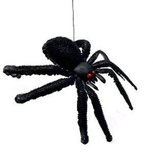 Aranha Borracha Brinquedo Festa Decoração Halloween Preta Pq