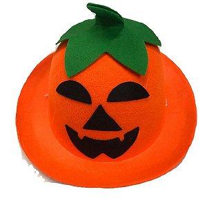 Chapéu Abóbora Halloween Infantil