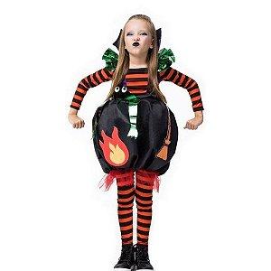 Fantasia Halloween Infantil Bruxinha Jenny