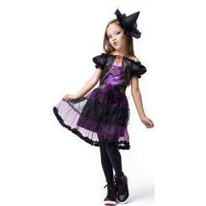 Fantasia Halloween Infantil Bruxinha Hildinha