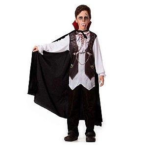 Fantasia Halloween Infantil Vampirinho
