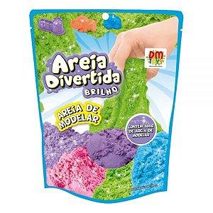 Areia Divertida Brilho - Dm Toys