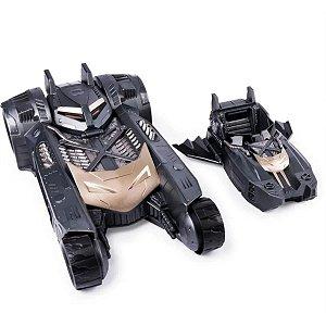 Batmóvel e Mini Lancha 2 em 1