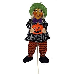 Decoração Halloween Bruxinha