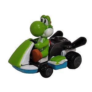 Mini Figura Yoshi - Mariokart - Tomy