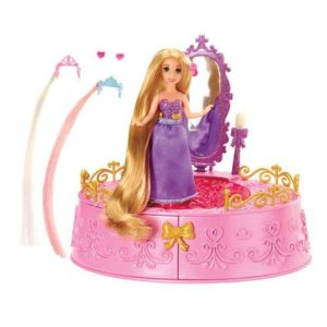 Porta-Joias Da Rapunzel - Mattel