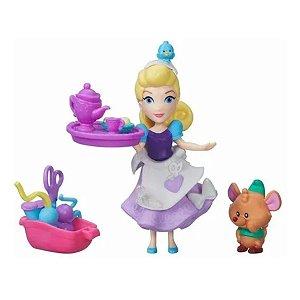 Mini Boneca Disney  - Costuras de Cinderela - Hasbro