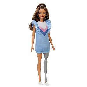 Barbie Fashionista # 121 - Perna Mecânica - Mattel
