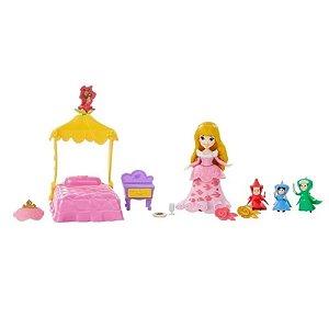 Maleta Princesas Disney - Mini Cenário - O Conto De Fadas Da Aurora - Hasbro