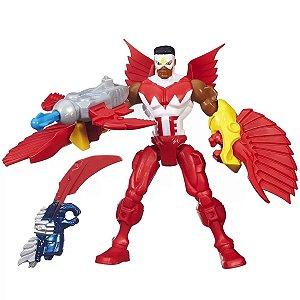 Boneco Super Hero Mashers Malvel's Falcon - Hasbro