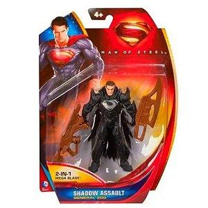 Figura Articulada General Zod - Man Of Steel - Mattel