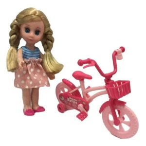 Boneca Candy Ciclista-Sortida