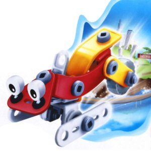 Blocos De Montar Carro De Neve Build&Play 48 Peças Com Ferramentas