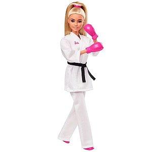 Barbie Esportista Olímpica Karatê - Mattel