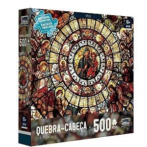 Puzzle Quebra Cabeça 500 Peças Arte Sacra Toyster Original