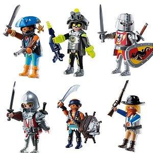 Kit Com 6 Bonecos Playmobil Playmo-friends Meninos Sunny