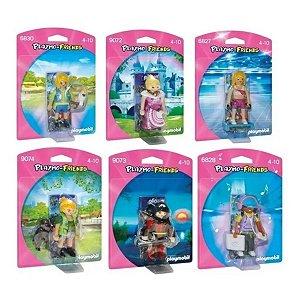 Kit Com 6 Bonecos Playmobil Playmo-friends Meninas Sunny