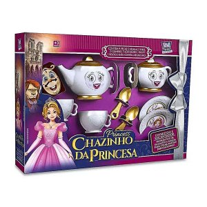 Kit Cozinha Infantil Chazinho da Princesa - Zuca toys