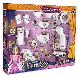 Conjunto 22 Peças de Chazinho da Princesa - Zuca Toys