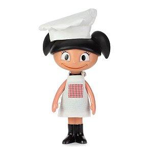 Boneca Luna Chef em Vinil 20cm - Estrela