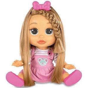 Boneca Baby Wow Mia Cresce Cabelo - Multikids