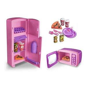 Kit Cozinha Brinquedo Infantil Kitchen Show - Zuca Toys