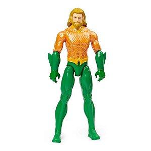 Boneco Dc - Liga Da Justiça - Aquaman 30cm - Sunny