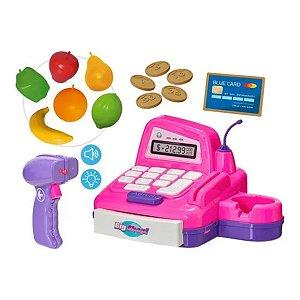 Caixa Registradora Big Shop Girls - Usual Brinquedos