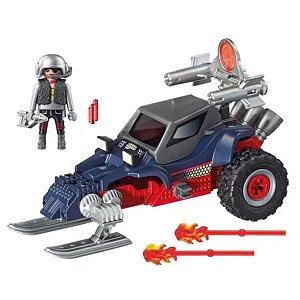 Playmobil - Pirata Do Gelo Com Moto 9058