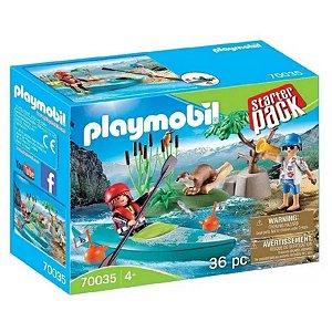 Playmobil Starter Pack Aventura No Parque Kaiak 70035