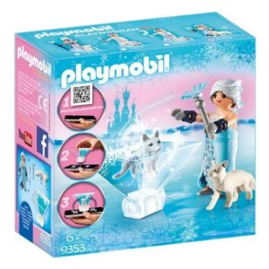 Playmobil Princesa Flor Do Inverno 9353