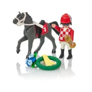 Playmobil Cavalos Soft Bag Playmobil Cavalo De Corrida 9261