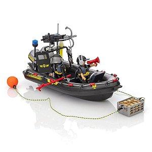 Playmobil City Action Bote das Forças Especiais 9362