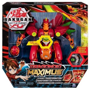 Bakugan Battle Plantet Figura Dragonoid Maximus - Sunny