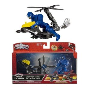 Power Ranger Ninja Steel Azul Veiculo Morfador - Sunny