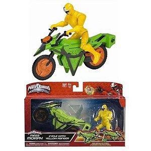 Power Rangers Veiculo com Ranger Amarelo - Sunny