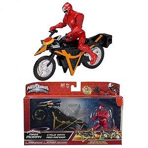Power Rangers Veiculo com Ranger Vermelho - Sunny