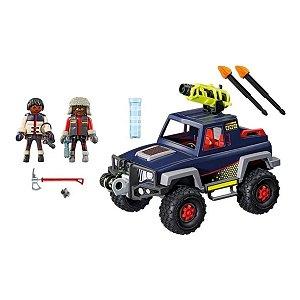 Playmobil - Expedição Ártica - Piratas do Gelo com Jipe - Sunny