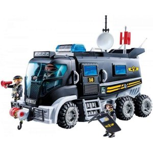 Playmobil - City Caminhão De Unidade Tática - Sunny