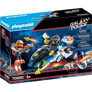 Playmobil Polícia Galáctica com Moto - Sunny