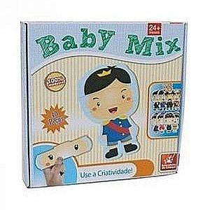 Brinquedo Educativo Baby Mix 40 Peças - Brincadeira de Criança