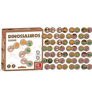 Dominó Dinossauro - Brincadeira de Criança