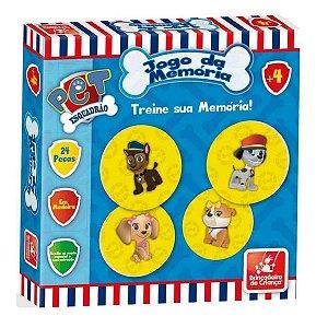 Jogo da Memória Esquadrão Pet - Brincadeira de Criança