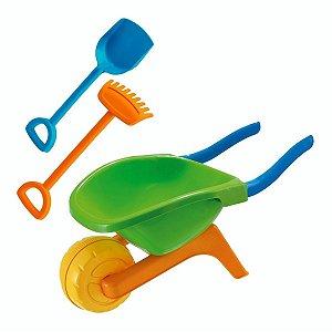 Carriola Infantil Para Praia - Usual Brinquedos
