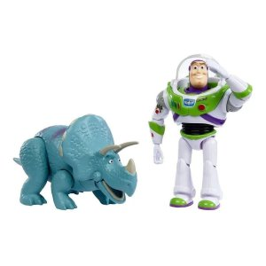 Boneco Toy Story 4 - Buzz Lightyear & Trixie - Mattel