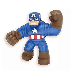 Goo Jit Zu - Capitão America - Marvel - Sunny