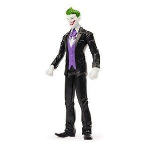 Boneco 15 cm Coringa Batman Dc The Joker Preto - Sunny