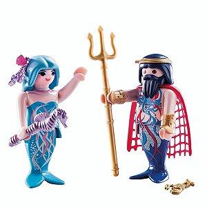 Playmobil - Rei do Mar e Sereia